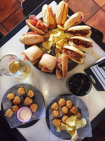 Dónde ir a comer en Las Palmas: 100 montaditos