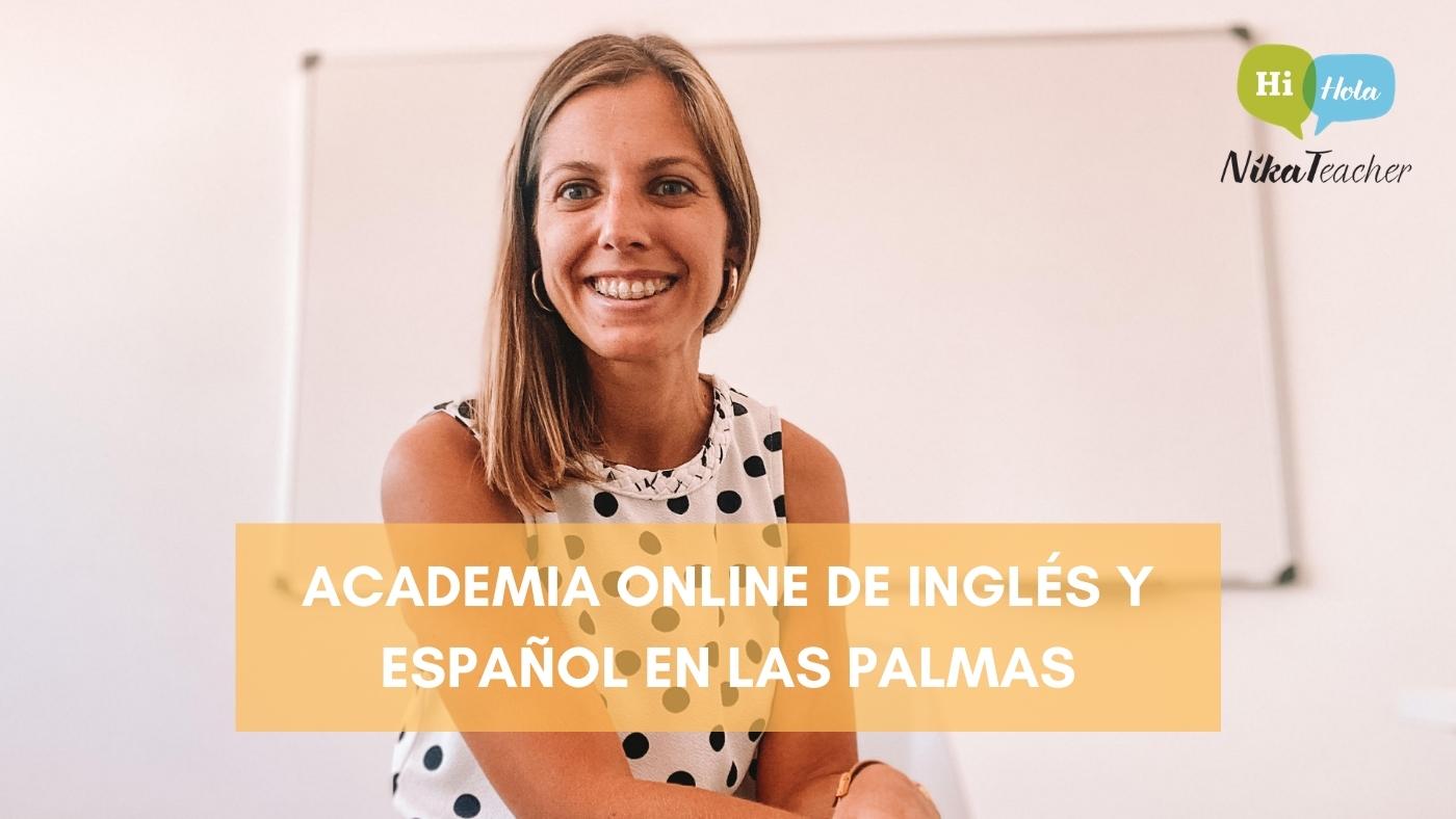 Academia online de inglés y español en Las Palmas, aprender, academia, clase, escuela de idiomas