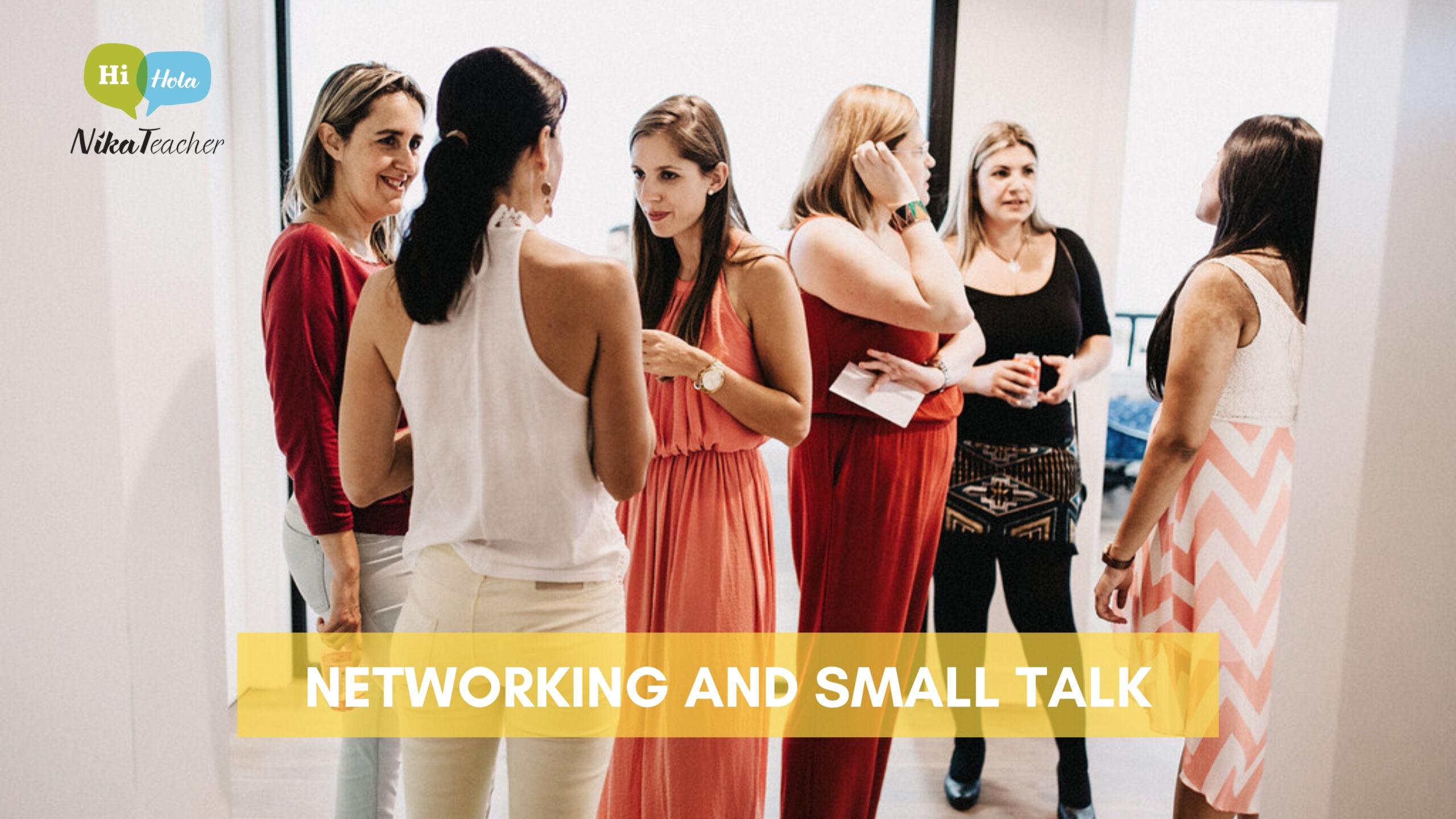 NETWORKING AND SMALL TALK: Expresiones para tu reunión en inglés